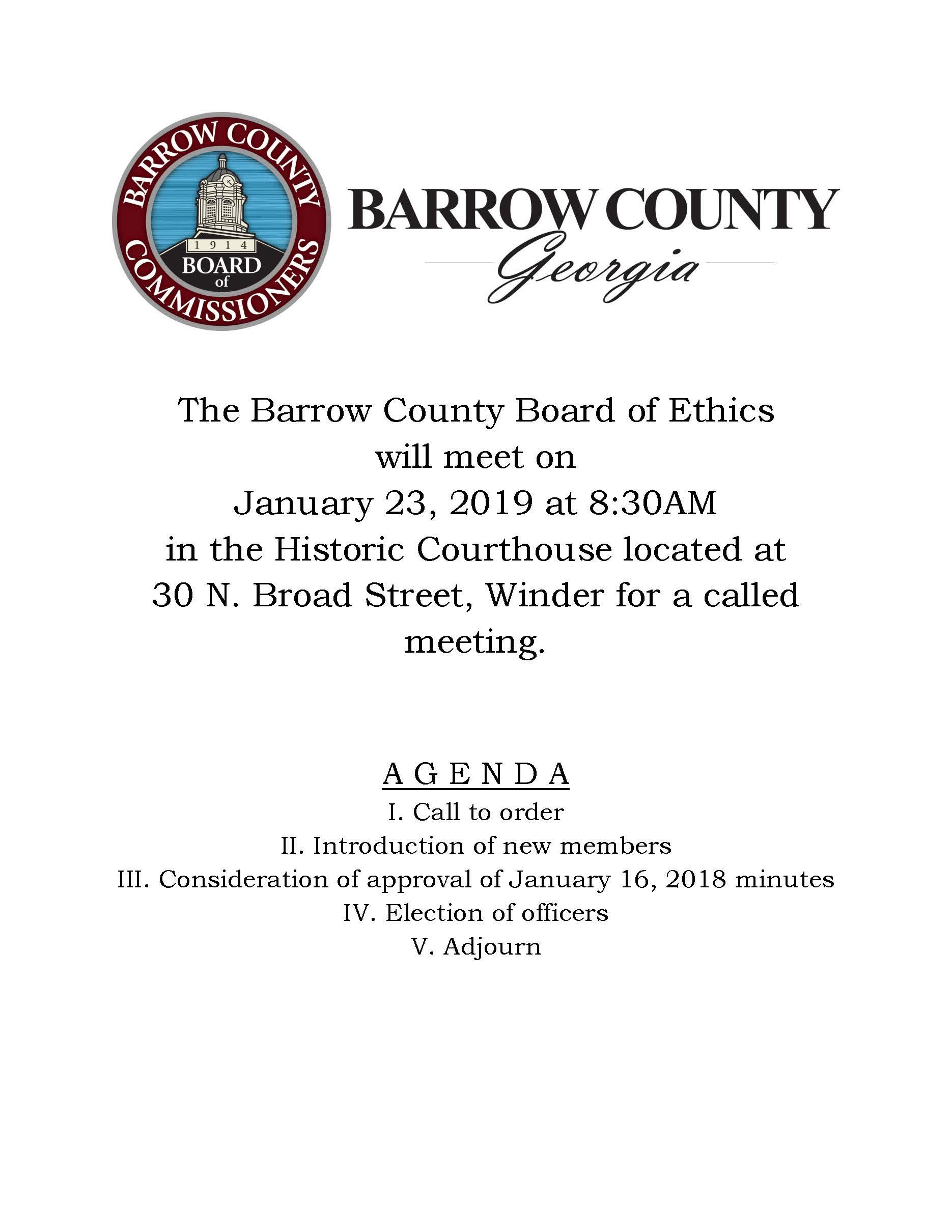Barrow County Georgia Official Website